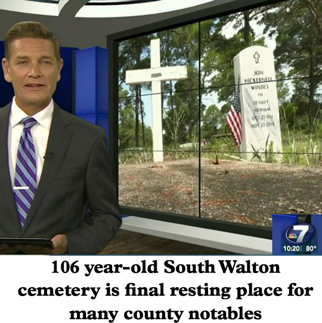 Final Resting Place for South Walton County Locals