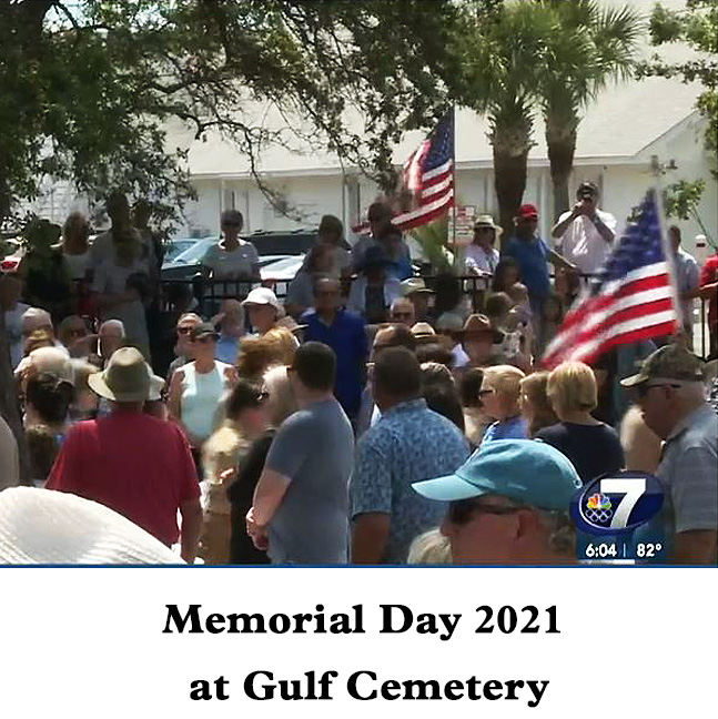 Memorial Day 2021 at Historic Gulf Cemetery